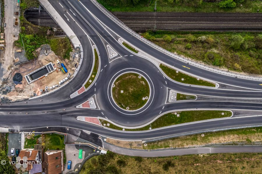 Kreisverkehr Kronach