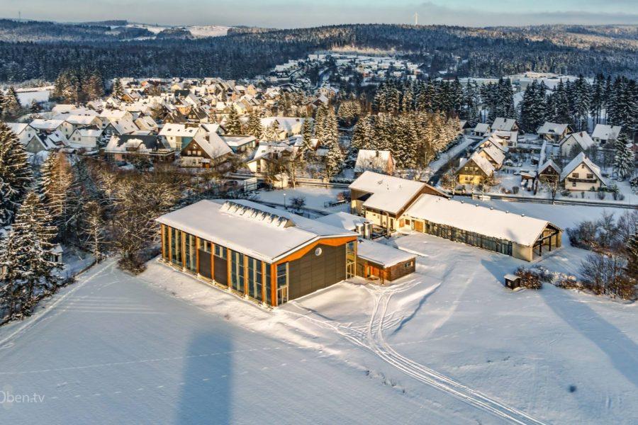 Die neue Rennsteighalle, Steinbach am Wald